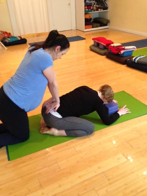 Prenatal Yoga Center | Partner Work Works!
