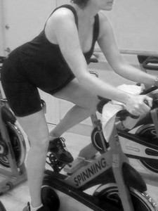 pregnant spinning 2